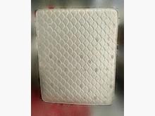 [9成新] B60710*白色雙人5尺床墊雙人床墊無破損有使用痕跡