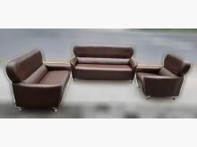 [8成新] 咖啡色123沙發組多件沙發組有輕微破損