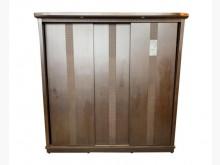 [9成新] B061201*胡桃色七尺衣櫃*衣櫃/衣櫥無破損有使用痕跡