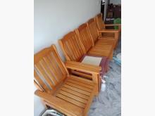 [9成新] 急售二手木頭沙發檢便宜木製沙發無破損有使用痕跡