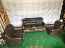 [全新] 庫存/零碼 半牛皮1+2+3沙發多件沙發組全新