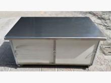 [9成新] 三合二手物流(5尺白鐵工作台櫃)其它廚房用品無破損有使用痕跡
