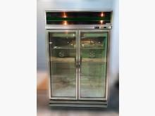 [7成新及以下] 營業用雙門玻璃冰箱冰箱有明顯破損