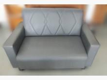 [全新] 全新灰色雙人貓抓皮沙發雙人沙發全新