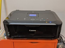 [9成新] Canon MG5370印表機電腦產品無破損有使用痕跡