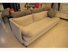[8成新] 三人沙發~兼床多件沙發組有輕微破損