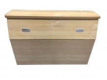 [8成新] B62115*原木色床頭櫃*床頭櫃有輕微破損