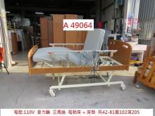[8成新] A49064 重力 三馬達電動床單人床架有輕微破損