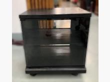 [9成新] A62604*黑色玻璃電視櫃*電視櫃無破損有使用痕跡