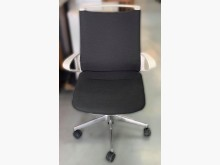 [8成新] 日本製黑白氣壓升降OA辦公椅辦公椅有輕微破損