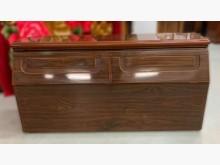 [9成新] B62606*胡桃雙人床頭櫃*床頭櫃無破損有使用痕跡