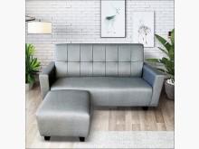 [全新] 庫克灰色貓抓皮L型沙發L型沙發全新