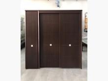 [9成新] 胡桃七尺衣櫥/三門大衣櫃衣櫃/衣櫥無破損有使用痕跡