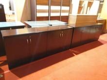 [8成新] 超值胡桃六尺辦公櫥櫃/收納櫃辦公櫥櫃有輕微破損