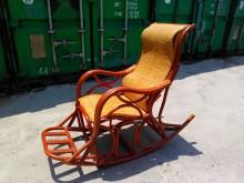 連欣二手傢俱-藤製搖椅/躺椅籐製沙發近乎全新