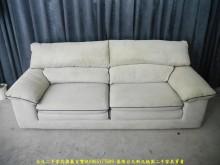 [9成新] 二手歐得葆220公分三人精品布沙雙人沙發無破損有使用痕跡