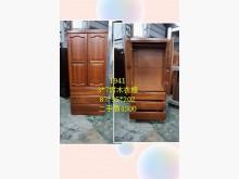 [9成新] 閣樓-3*7實木衣櫃衣櫃/衣櫥無破損有使用痕跡