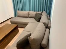 [95成新] 皇齊柚木沙發含茶几L型沙發近乎全新