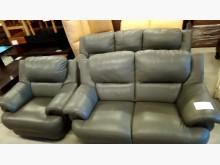 [8成新] 大台北二手傢俱-1+2+3皮沙發多件沙發組有輕微破損