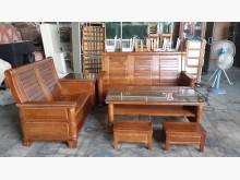 [全新] 全新傢俱樟木實木可掀式木沙發組木製沙發全新