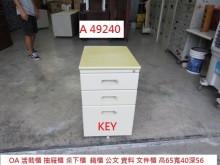 [8成新] A49240 KEY 活動櫃收納櫃有輕微破損