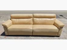[9成新] 三合二手物流(牛皮4人座沙發)多件沙發組無破損有使用痕跡