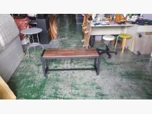 合運二手傢俱~全新工業風鐵腳長凳其它桌椅全新
