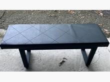 [9成新] 黑色長鐵椅其它桌椅無破損有使用痕跡
