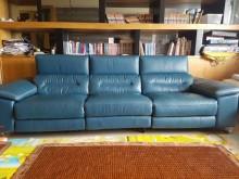 [95成新] ARON GINO 三人皮沙發雙人沙發近乎全新