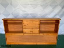 [9成新] 07028109 原木色床邊櫃其它櫥櫃無破損有使用痕跡