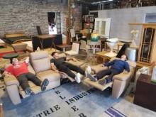 [9成新] 絕對超值kuka home手動式多件沙發組無破損有使用痕跡