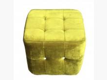 [9成新] A70606*綠色方形沙發椅*沙發矮凳無破損有使用痕跡