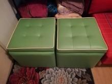 [95成新] 可置物的沙發凳沙發矮凳近乎全新