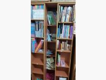 [9成新] 二層式書櫃,節省空間,容量大書櫃/書架無破損有使用痕跡