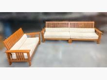 [95成新] TK7050*柚木2+4沙發組木製沙發近乎全新