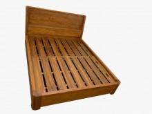 [全新] HM721BB*全新柚木雙人床架雙人床架全新
