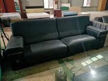 [9成新] 二手家具~半牛皮沙發4人座多件沙發組無破損有使用痕跡