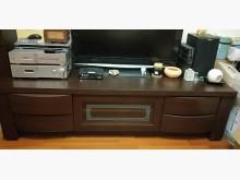 [8成新] 胡桃色六呎電視櫃特價電視櫃有輕微破損