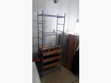 [全新] 再生傢俱~實木松木可自由調整收納收納櫃全新