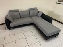 [9成新] 左右可換邊L型沙發組多件沙發組無破損有使用痕跡
