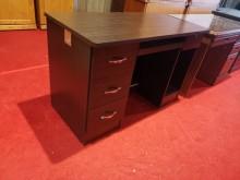 [8成新] 出外人多用途四尺電腦桌 書桌電腦桌/椅有輕微破損