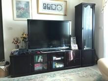 [9成新] 電視櫃 展示櫃 書架電視櫃無破損有使用痕跡