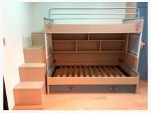 [8成新] 歐德上下舖書桌床組其它家具有輕微破損