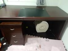 [9成新] 裝潢出清書桌/椅無破損有使用痕跡