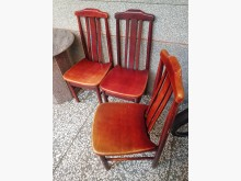 [8成新] 實木餐椅@680元/張餐椅有輕微破損