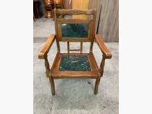 [7成新及以下] 大理石實木單人椅沙發*單人*木沙木製沙發有明顯破損