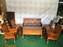 [9成新] 二手/中古 柚木八件組客廳椅木製沙發無破損有使用痕跡