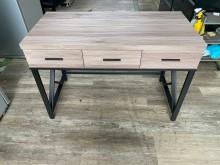 [全新] 吉田二手傢俱❤全新4尺工業風書桌書桌/椅全新