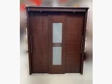[8成新] A72404*胡桃色6尺衣櫃衣櫃/衣櫥有輕微破損