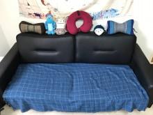 [7成新及以下] 生活工場 質感三人座沙發多件沙發組有明顯破損